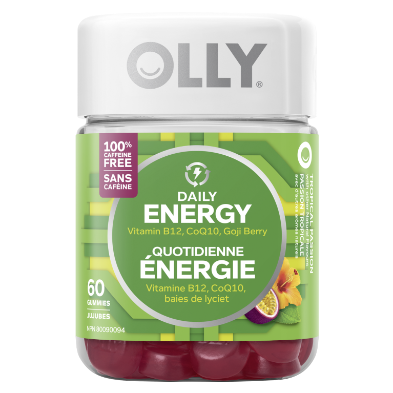 OLLY Daily Energy Gummy B Vitamin & Supplement