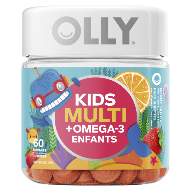 Olly Nutrition Canada - Kids Multi Omega 60 ct