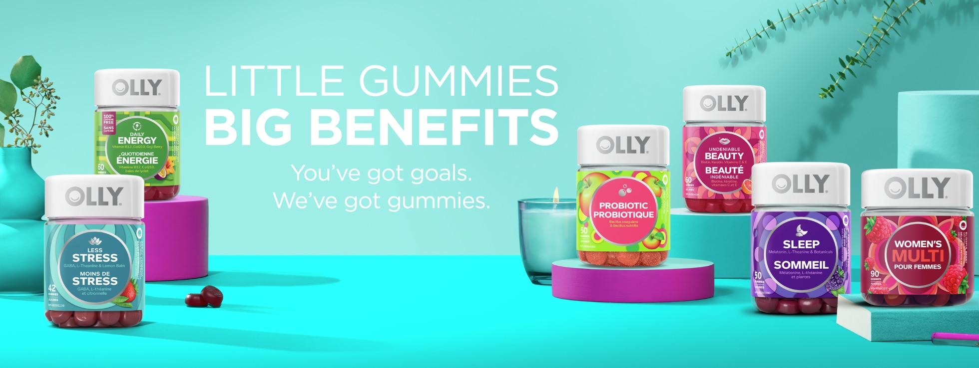 OLLY GUMMY VITAMINS & SUPPLEMENTS