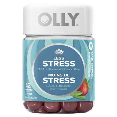 OLLY Less Stress Gummy Vitamin & Supplement